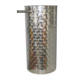 Depósito decantación para aceite floreado INOX 304 serie Oleomaquia MB-mundobodega