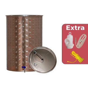 Depósitos para vino acero inox. 304 eco siempre llenos con cierre neumático