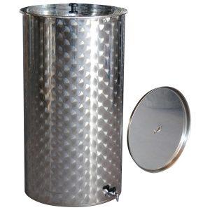 Depósitos para vino inox. 304 Serie E Floreados siempre llenos cierre de aceite ECO