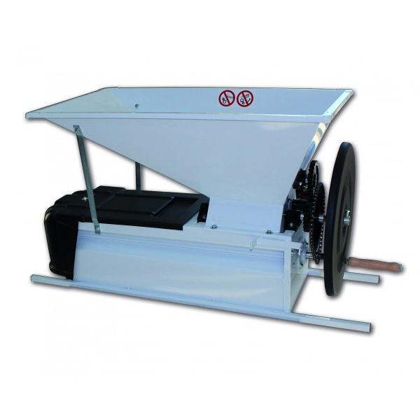 Despalilladora estrujadora manual de acero lacado para uvas INV VENMD1E1