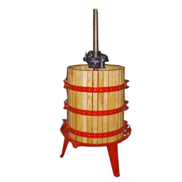 Prensa manual de vino de madera