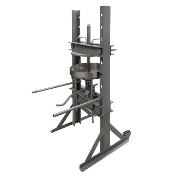 Prensa para aceitunas manual hidráulica Ø50-mundobodega