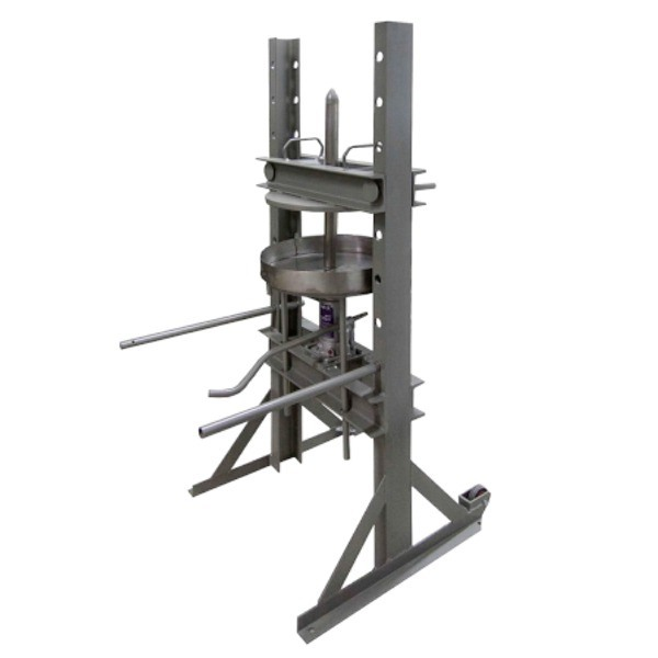 Prensa para aceitunas manual hidráulica Ø60-mundobodega