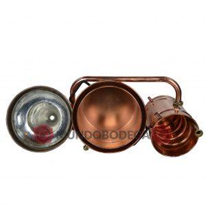 Alambique hidraulico 10 litros - 6