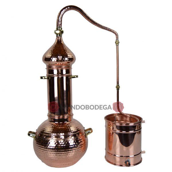 Alambique polivalente 10 - 30 litros