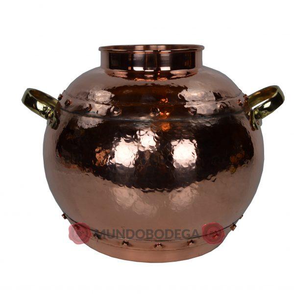 Alambique de cobre clasico remachado 30 litros