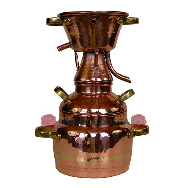 alambique al vapor 1 litro