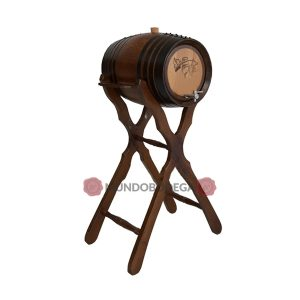barril pie alto 32 litros