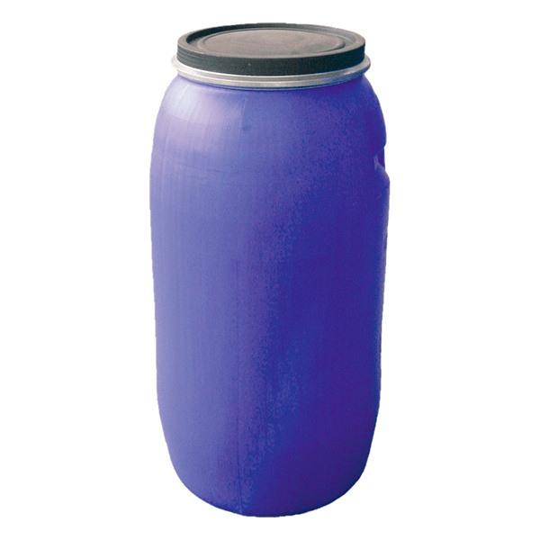Bidón azul tapa con fleje