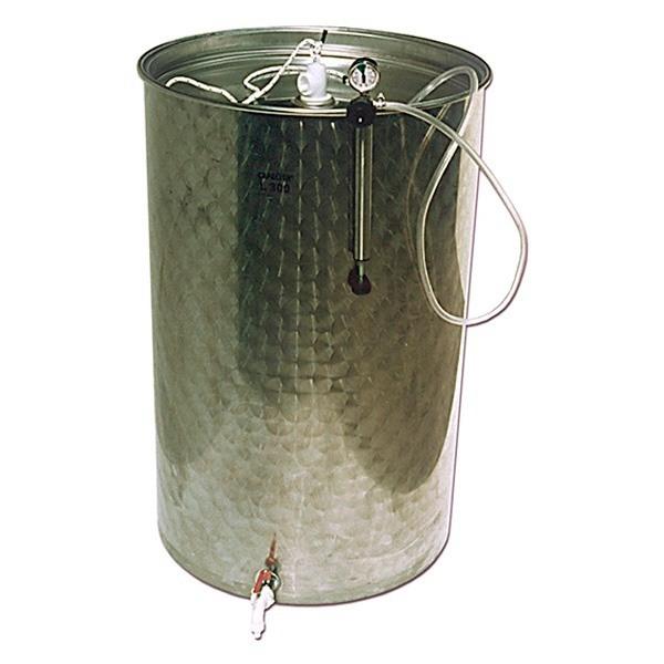 Depósitos para aceite con cierre neumático y tapa de polvo BJR-ORK inox. 304 SuperEco Plus-mundobodega