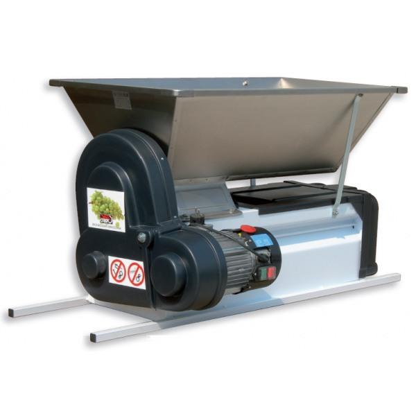 Estrujadora despalilladora eléctrica semi-inox INV VENMD2E2