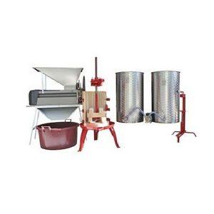Kit de iniciación completo de elaboración de vino