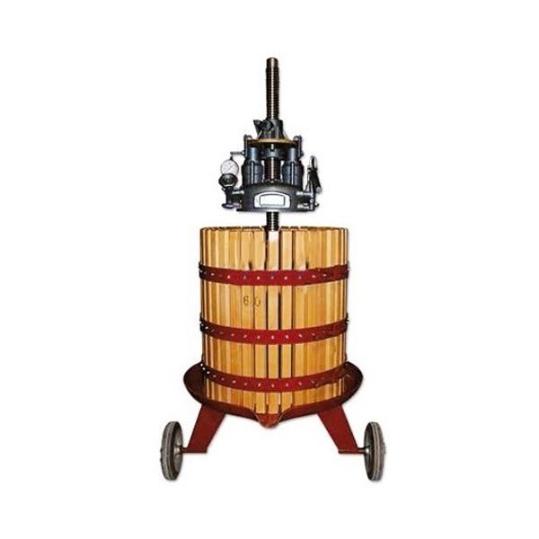 Prensa hidráulica de vino de madera 315kg INV VENMPREMAH-070