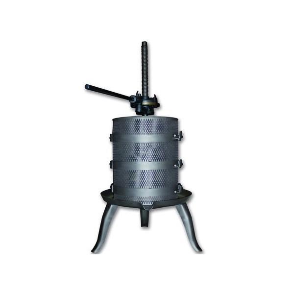 Prensa de vino manual de acero inox 125kg INV VENMPREMA-050I