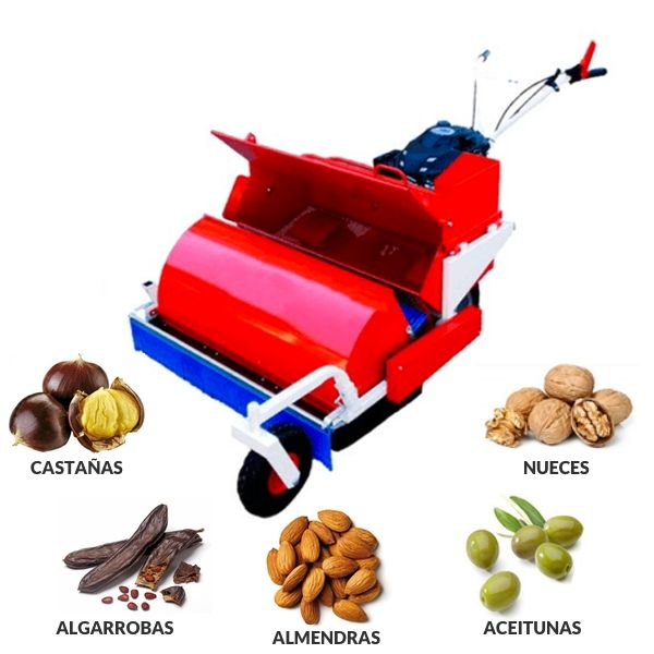 Recogedor para aceitunas y frutos secos Roteco LM85 motor Honda-mundobodega